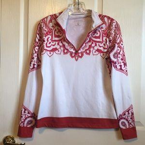 Athleta Sz S quarter zip pullover shirt